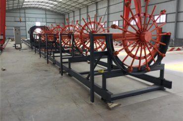 CNC გაძლიერების Pile ფოლადის Rebar Cage შესადუღებელი მიღების მანქანა