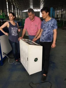 აბონენტის ვიზიტი ქარხანაში