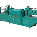 სრული ავტომატური CNC კონტროლის ტიპის გასწორება და ჭრის დანადგარი